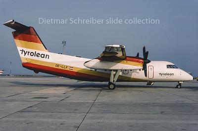 1995-05 OE-LLF Dash DHC8-100 Tyrolean Airways