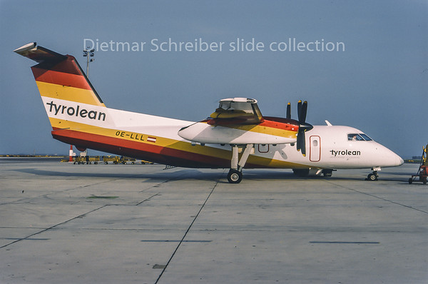 1995-05 OE-LLL Dash DHC8-100 Tyrolean Airways