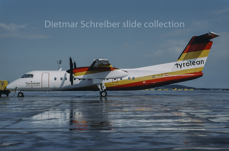 1994-06 OE-LLZ Dash DHC8-300 Tyrolean Airways