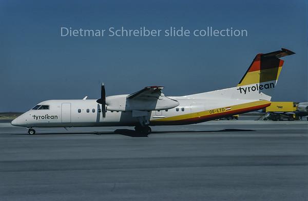 1996-04 OE-LTD Dash DHC8-300 Tyrolean Airways