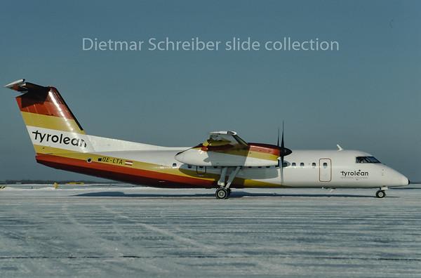 1997-01 OE-LTA Dash DHC8-300 Tyrolean Airways