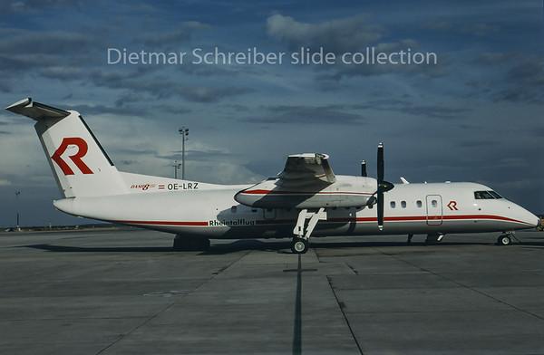 1995-05 OE-LRZ Dash DHC8-300 Rheintalflug