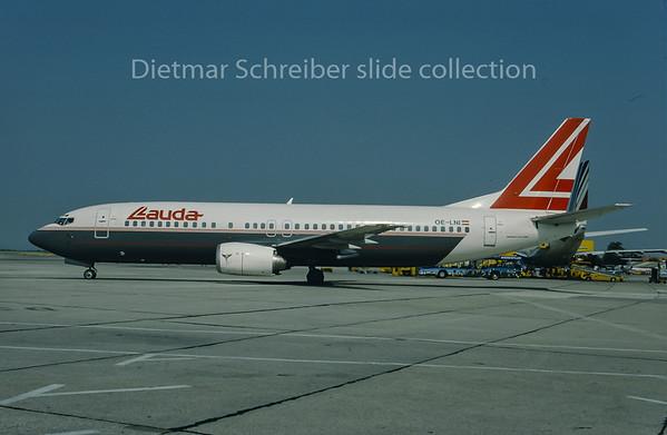 1993-06 OE-LNI Boeing 737-400 Lauda Air