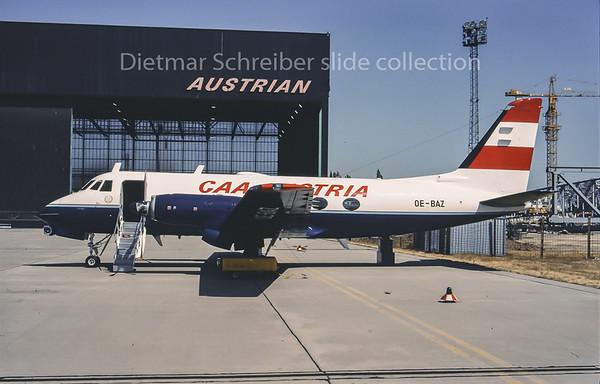 OE-BAZ Gulfstream 1 Austria - Bundesamt für Zivilluftfahrt