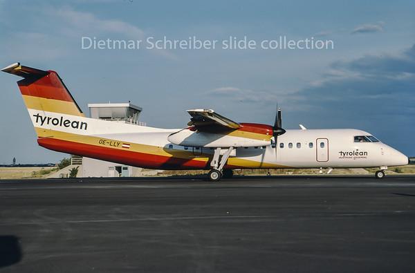 1994-08 OE-LLY Dash DHC8-300 Tyrolean Airways