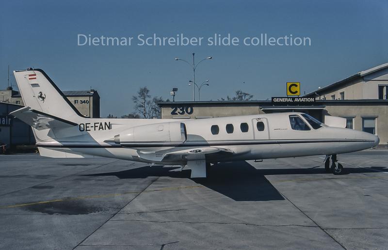 OE-FAN Cessna 500 Citation 1 Avanti Air