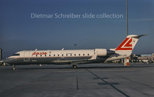 1996-12 OE-LRE Canadair Regionaljet Lauda Air