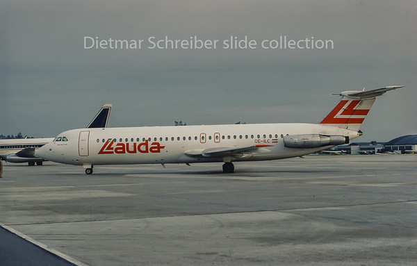 OE-ILC BAC 1-11 Lauda Air