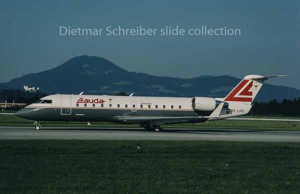 OE-LRD Canadair Regionaljet Lauda Air