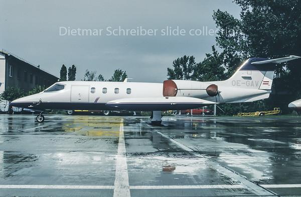 1995-09 OE-GAV Learjet 35 Grossmann Air Service