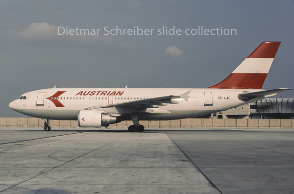 1995-09 OE-LAC Airbus A310 Austrian Airlines