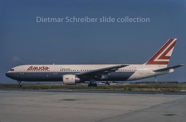 1995-08 OE-LAX Boeing 767-300 Lauda Air