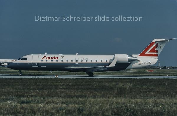 1995-08 OE-LRC Canadair Regionaljet Lauda Air