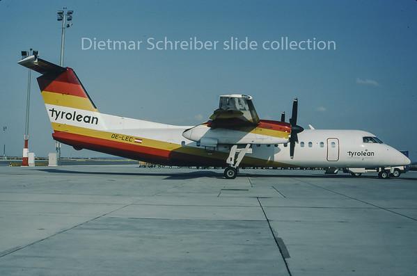 1995-08 OE-LEC Dash DHC8-300 Tyrolean Airways
