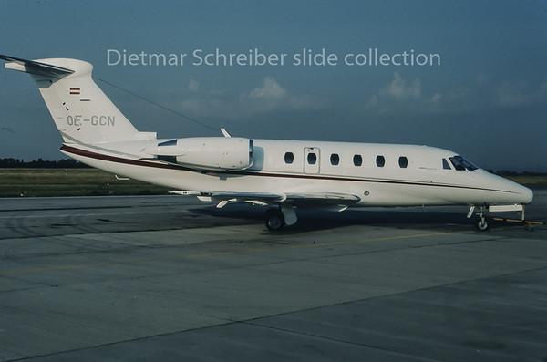 1995-08 OE-GCN Cessna 650 Citation 3 Air Salzburg