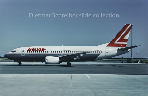 1995-09 OE-ILF Boeing 737-300 Lauda Air