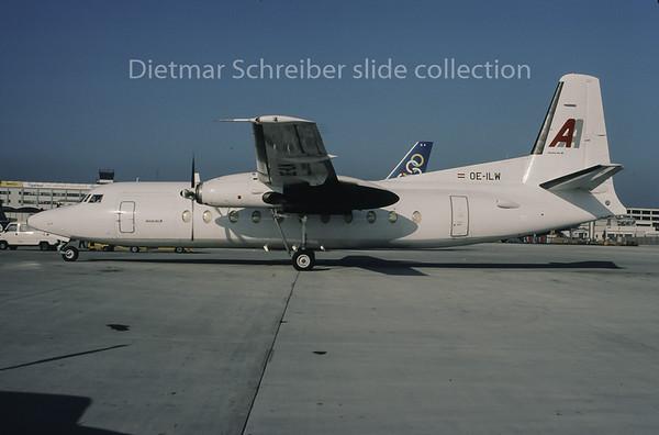 1995-10 OE-ILW Fokker 27 Amerer Air