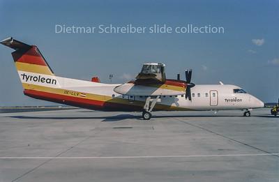 1995-08 OE-LLV Dash DHC8-300 Tyrolean Airways