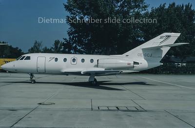 1995-09 OE-GCJ Dassault Falcon 20 City Jet