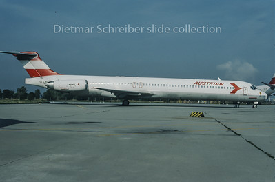 1995-09 OE-LMD MDD MD80 Austrian Airlines