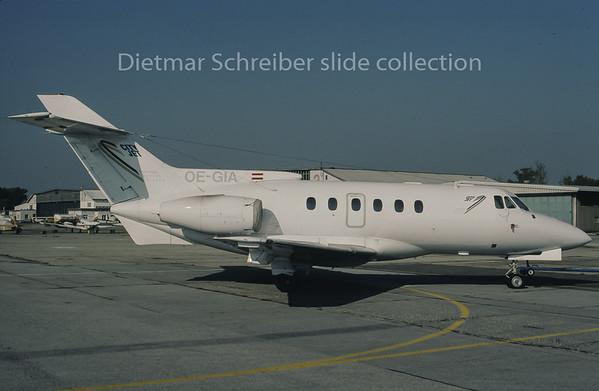 1995-11 OE-GIA Bae 125 City Jet