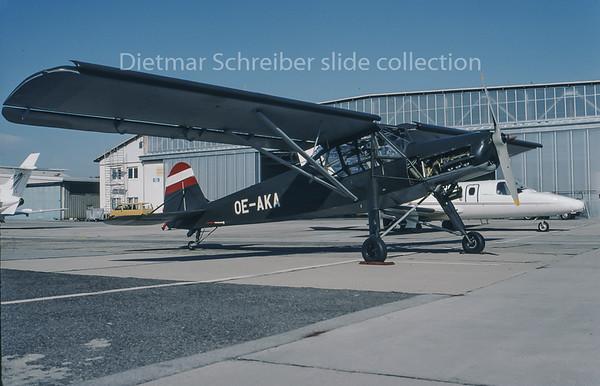1995-11 OE-AKA Fieseler Storch