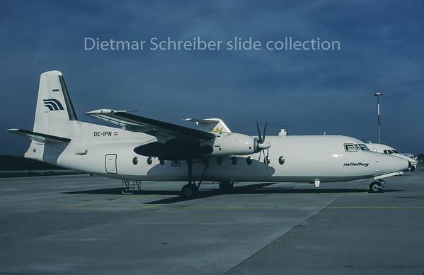 1995-10-08 OE-IPN Fokker 27 Ratioflug