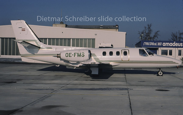 1996-01 OE-FMS Cessna 500 Citation 1 Tyrolean Jet Service