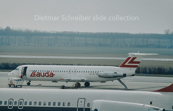 OE-ILD BAC 1-11 Lauda Air