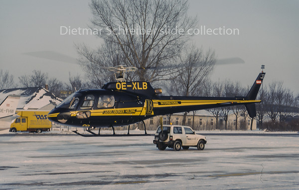 OE-XLB Eurocopter AS350 Lasselsberger Holding International