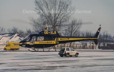 OE-XLB Eurocopter AS350 Lasselsberger Holding International