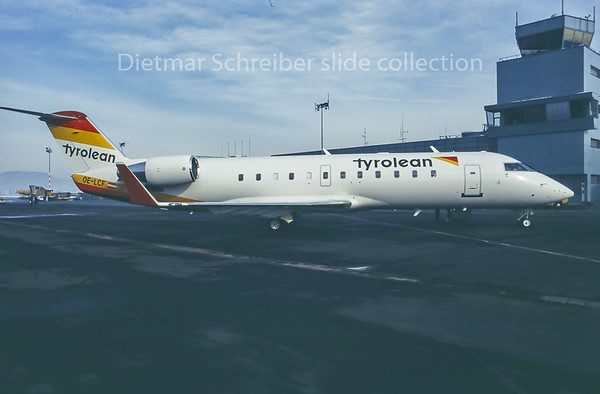 1996-01-11 OE-LCF Canadair Regionaljet 200 Tyrolean Airways