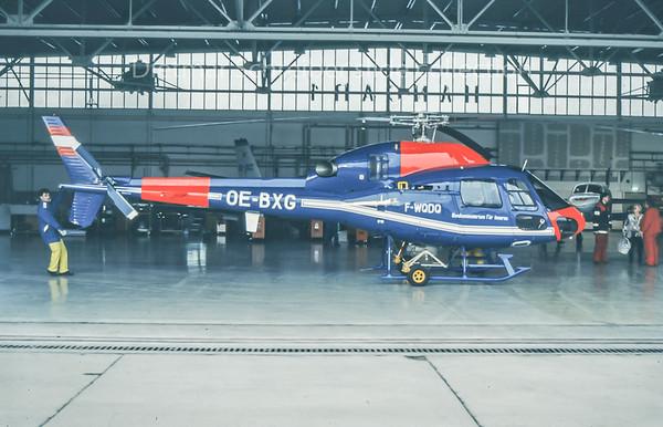 1996-01 F-WQDQ / OE-BXG Eurocopter AS350 Austrian Police