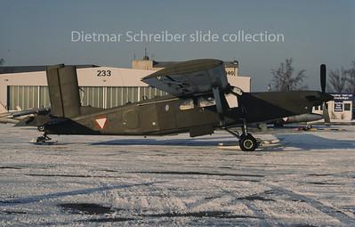 3G-EJ Pilatus PC6 Austrian Air Force