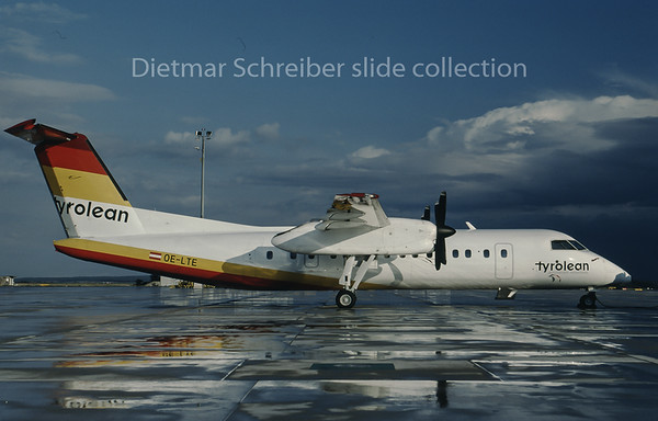 1996-09 OE-LTE Dash DHC8-300 Tyrolean Airways