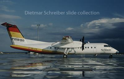 1996-09 OE-LTE Dash DHC8-300 Tyrolean Airways