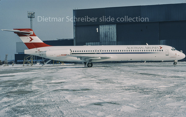 1996-02 OE-LMM MDD MD87 Austrian Airlines