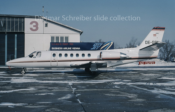 OE-GPA Cessna 560 Citation 5 Porsche Austria