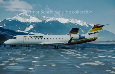 1996-03-02 OE-LCG Canadair Regionaljet 200 Tyrolean Airways