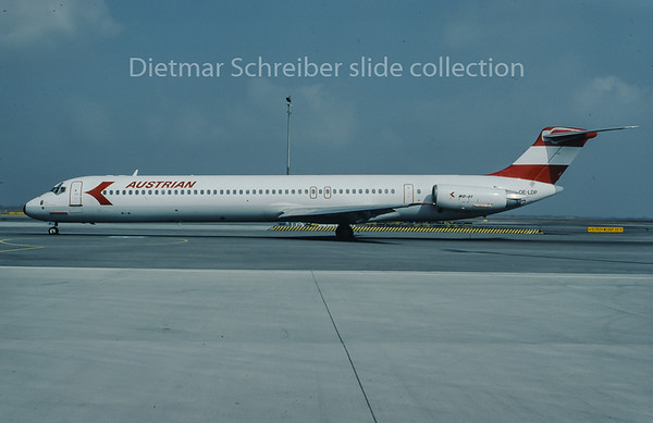 1996-03 OE-LDP MDD MD80 Austrian Airlines