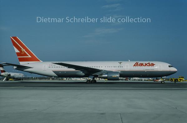 1996-01 OE-LAU Boeing 767-300 Lauda Air