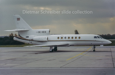 OE-HCS Dassault Falcon 50 Tyrolean Jet Service