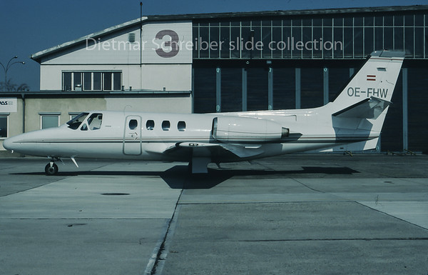 1996-03 OE-FHW Cessna 500 Citation 1 Comtel Air
