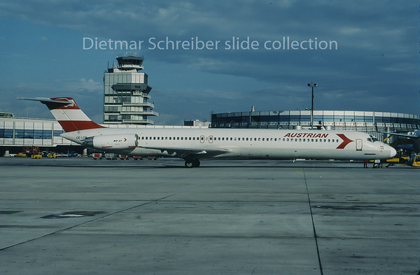 1995-09 OE-LDR MDD MD80 Austrian Airlines