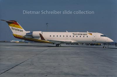 1996-04 OE-LCH Canadair Regionaljet 200 Tyrolean Airways