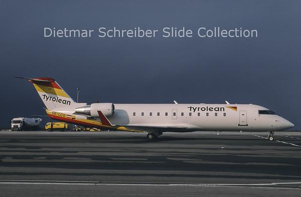 1996-04 OE-LCG Canadair Regionaljet 200 Tyrolean Airways