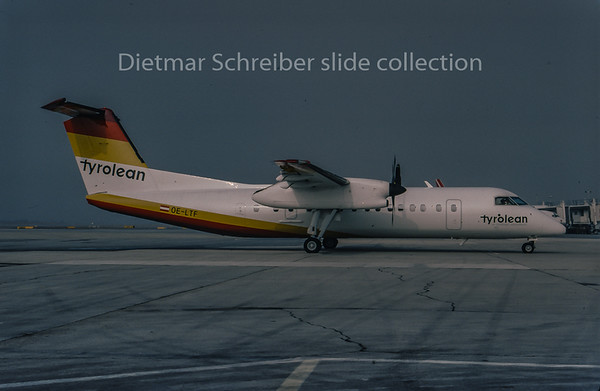 1996-04 OE-LTF Dash DHC8-300 Tyrolean Airways