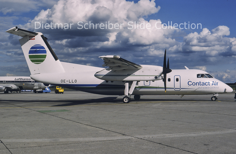 1990-10 OE-LLO Dash8-100 Contactair