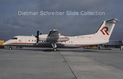 1996-04 OE-LRZ Bombardier Dash 8-311 (c/n 410) Rheintalflug