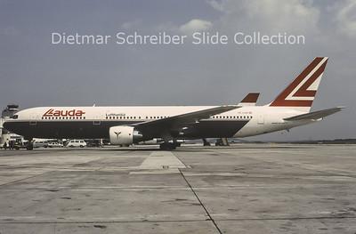 1996-07 OE-LAW Boeing 767-3Z9ER (c/n 26417) Lauda Air